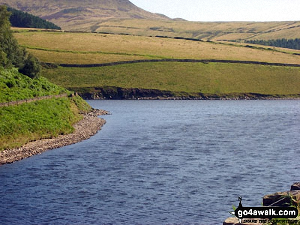 Kinder Reservoir from William Clough