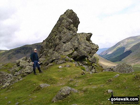 The 'Howitzer' on the summit of Helm Crag