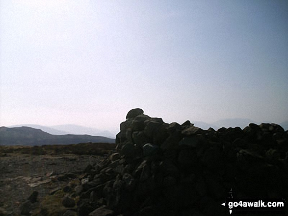 Walla Crag summit cairn