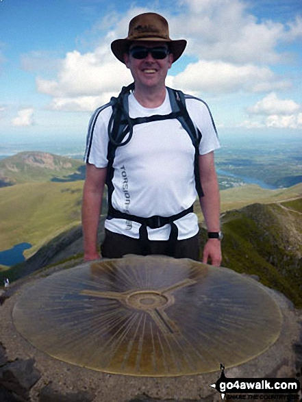 Me on the summit of Snowdon