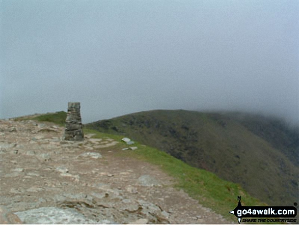 The Old Man of Coniston Summit