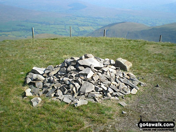On the summit of Calders