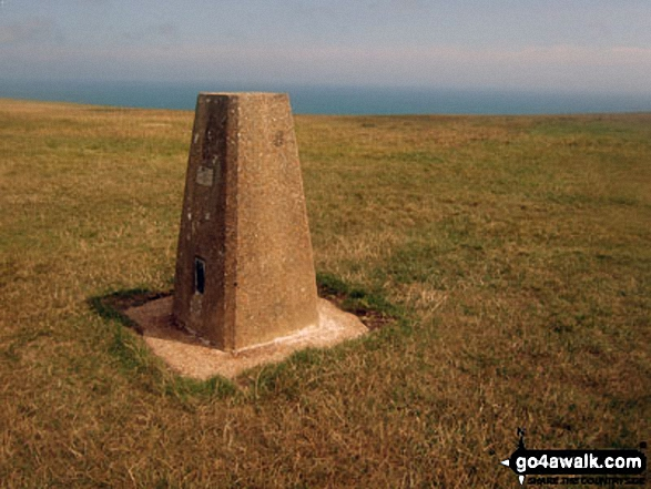 Beachy Head summit Trig Point