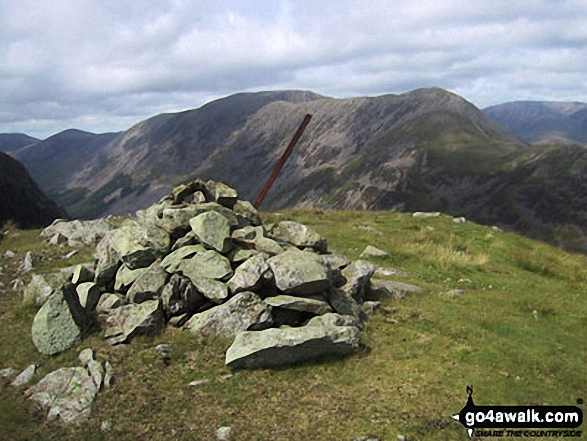 Walk Looking Stead (Pillar) walking UK Mountains in The Western Fells The Lake District National Park Cumbria    England