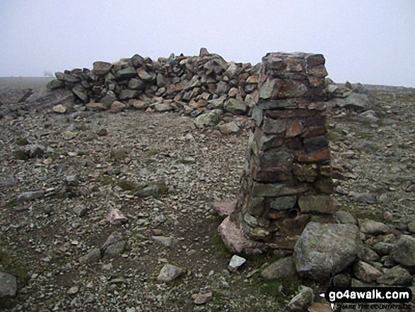 Pillar summit trig point