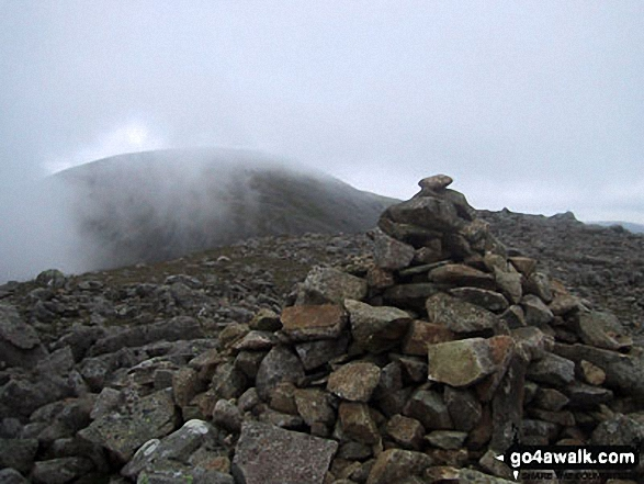 Black Crag (Pillar) summit cairn