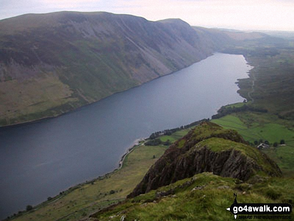 Illgill Head, Whin Rigg and Wast Water from Yewbarrow