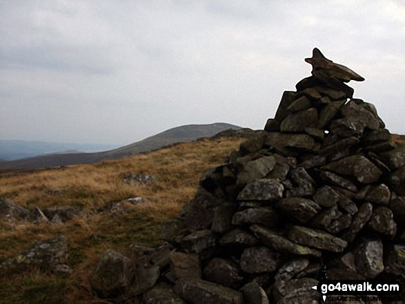 Woodend Height (Yoadcastle) summit cairn