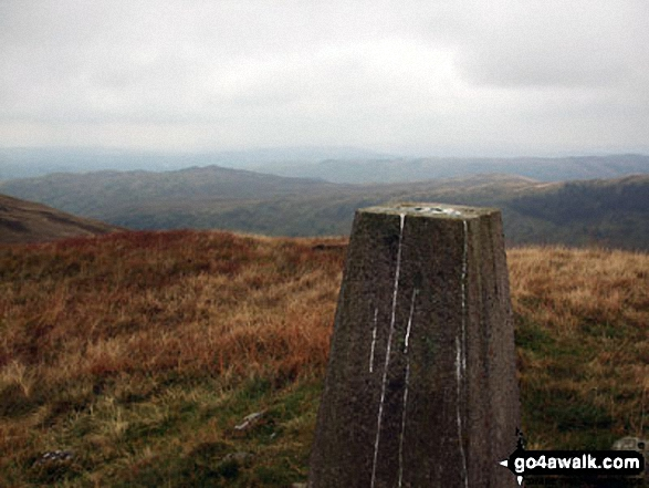 White Howe (Bannisdale) summit trig point