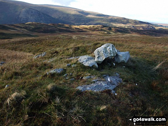 Hare Shaw summit cairn