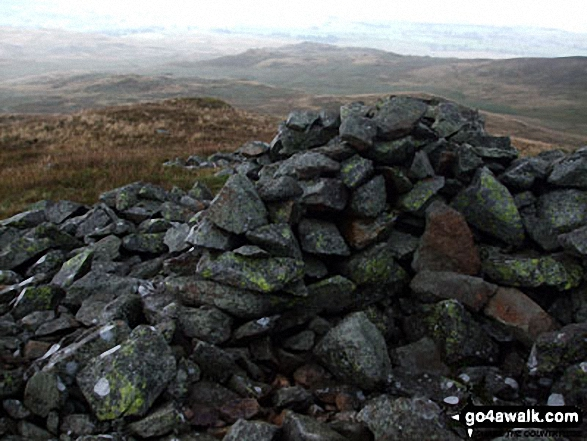 The summit cairn on Seat Robert