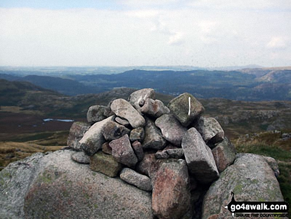 Rough Crag (Birker Fell) summit cairn
