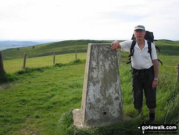 Me on Hambledon Hill walk The Wessex Ridgeway Path Dorset England walks
