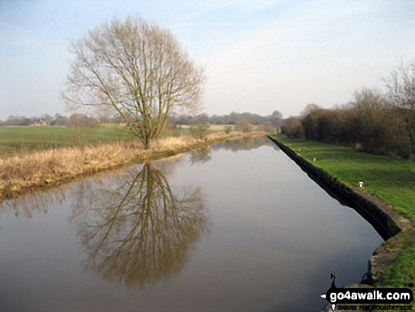 The Shropshire Union Canal from Wharton's Lock