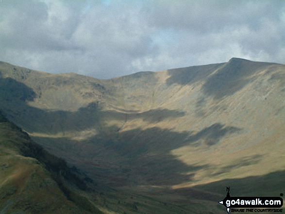 Riggindale and Kidsty Pike from Selside Pike