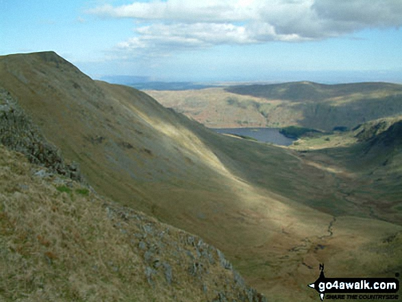Walk c128 The Hayswater Round from Hartsop - Kidsty Pike from Straits of Riggindale