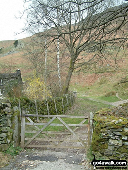 Gateway to Boredale Hause at Rooking