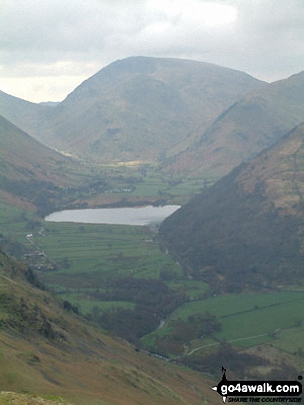 Walk c304 Beda Head and Place Fell from Howtown - Brothers Water and High Hartsop Dodd from Place Fell