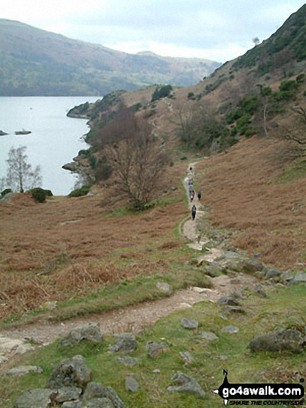 Ullswater Shore Path between Howtown and Patterdale