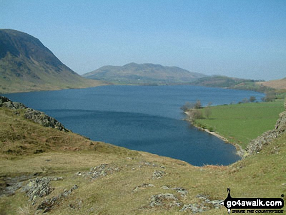 Crummock Water from Buttermere Hause