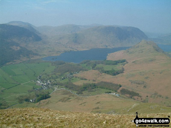 Crummock Water and Rannerdale Knotts from High Snockrigg