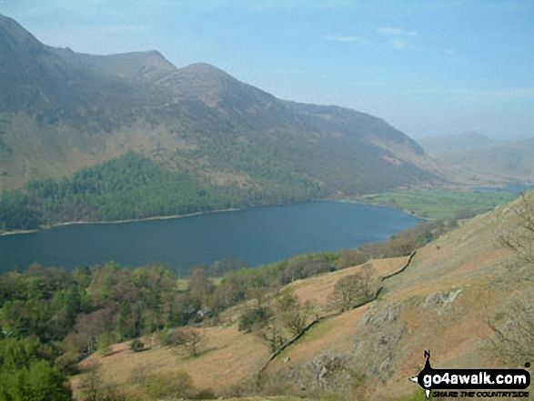 Buttermere and Red Pike from Robinson slopes