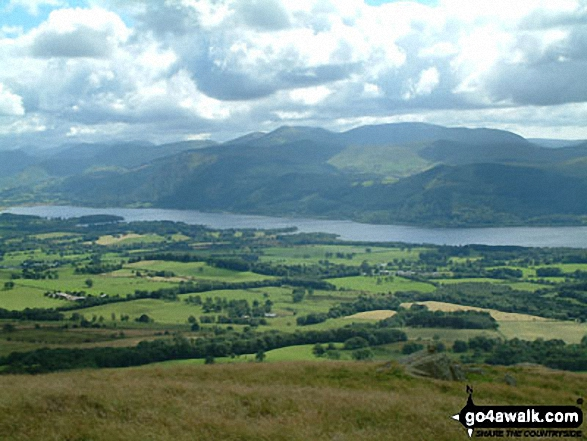 Bassenthwaite from Binsey