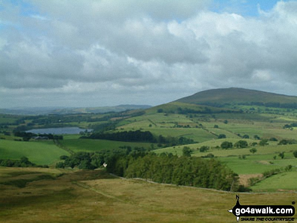 Walk Longlands Fell walking UK Mountains in The Northern Fells The Lake District National Park Cumbria    England
