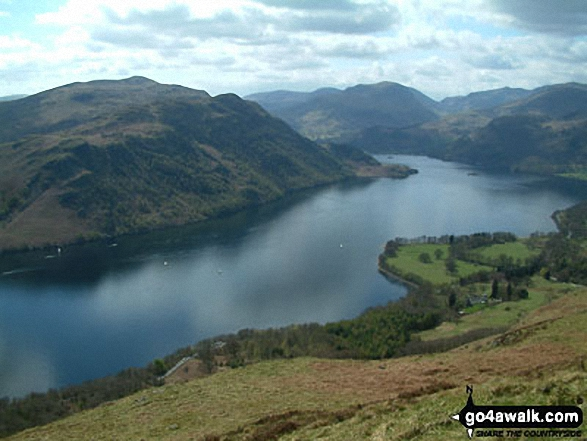 Ullswater from Green Hill (Gowbarrow Fell)