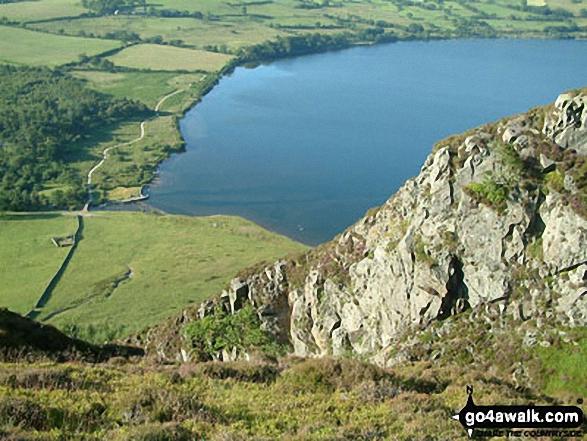 Ben Gill and Ennerdale Weir from Crag Fell
