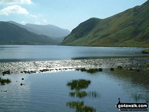 Ennerdale Weir, Ennerdale Water