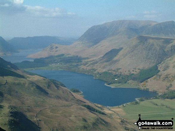 Walk Picture/View: Buttermere from Hay Stacks in The Western Fells, The Lake District, Cumbria, England by David Hayter (24)