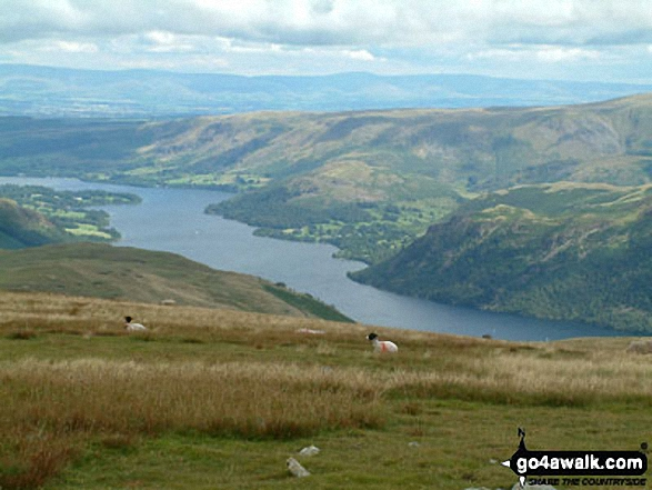 Walk Hart Side walking UK Mountains in The Eastern Fells The Lake District National Park Cumbria    England