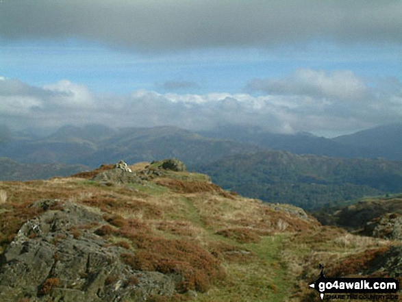 Holme Fell summit
