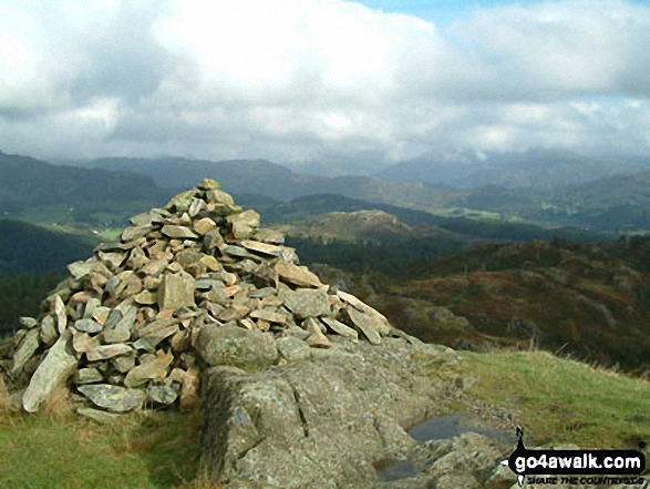 Holme Fell summit cairn