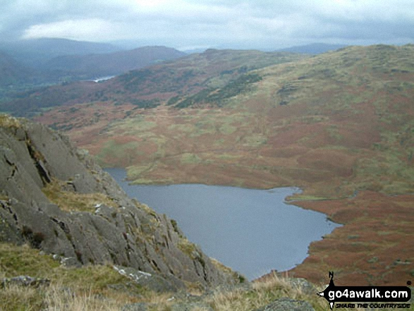 Easedale Tarn from Tarn Crag (Easedale)