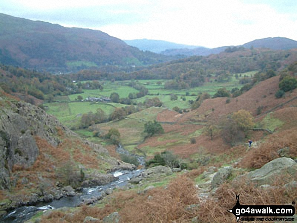 Easedale from Sour Milk Gill