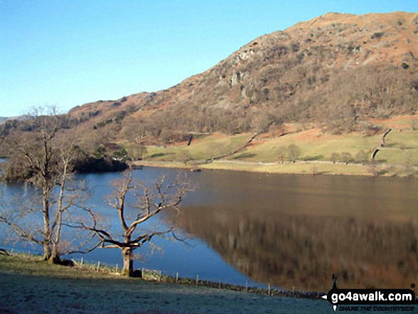 Rydal Water from Loughrigg Fell