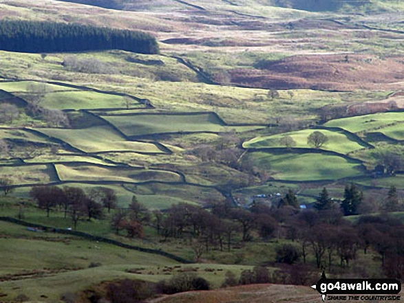 Fields below Sour Howes