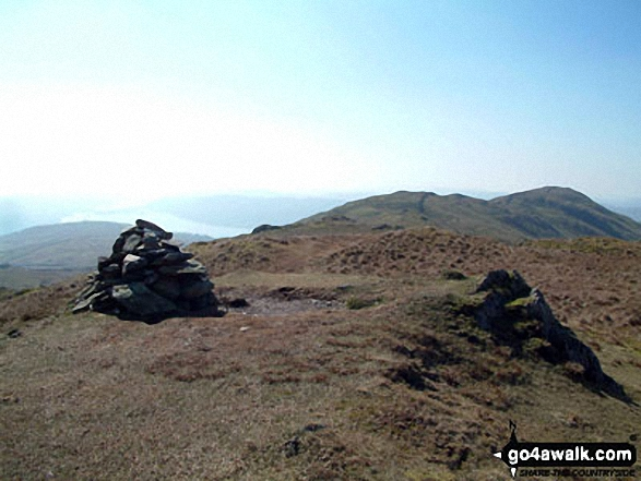 Wansfell Pike from Baystones (Wansfell) summit