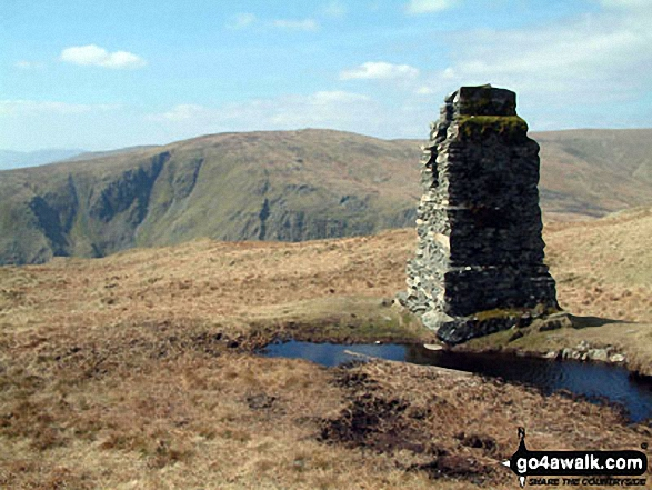 Survey Post on Tarn Crag (Sleddale)