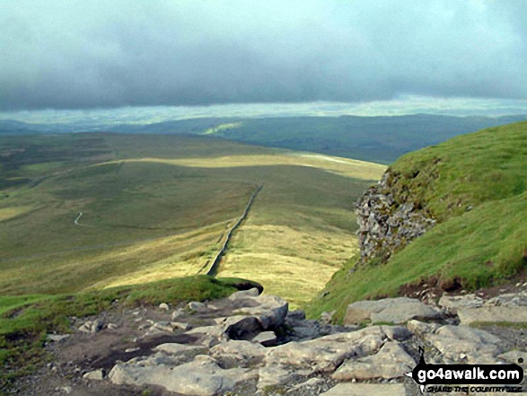 Looking South from Pen-y-Ghent