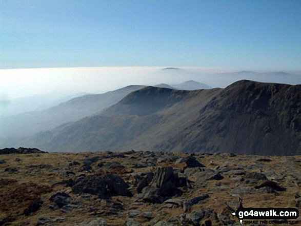 Brown Pike from The Old Man of Coniston