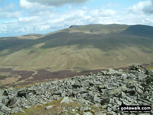 Blencathra  or Saddleback from Great Calva