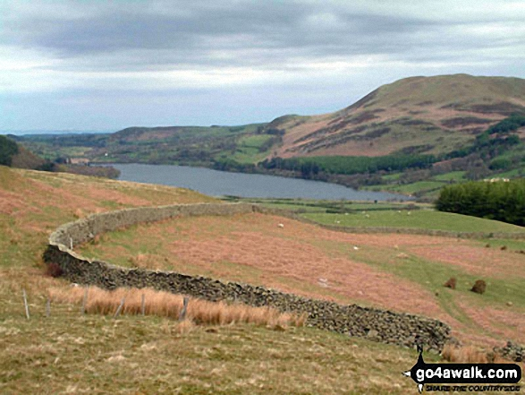 Loweswater and Darling Fell (right) from Mosedale Beck. Walk route map c101 Pillar and Little Scoat Fell from Wasdale Head, Wast Water photo