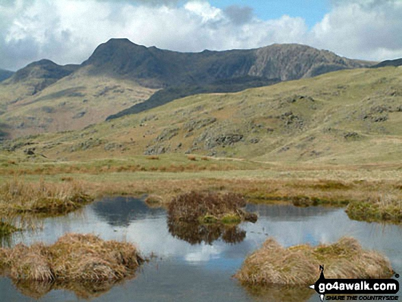 Pavey Ark and-Harrison Stickle from Silver How