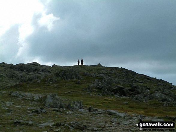 Walk c264 The Grisedale Round from Patterdale - St Sunday Crag Summit