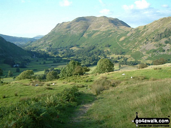 Place Fell from near Dubhow in Patterdale
