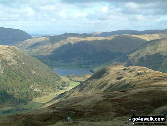 Brothers Water and Angle Tarn Pikes from High Hartsop Dodd