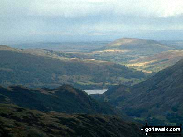 Ullswater and Great Mell from Red Screes